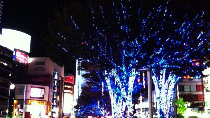 Shinjuku illumination